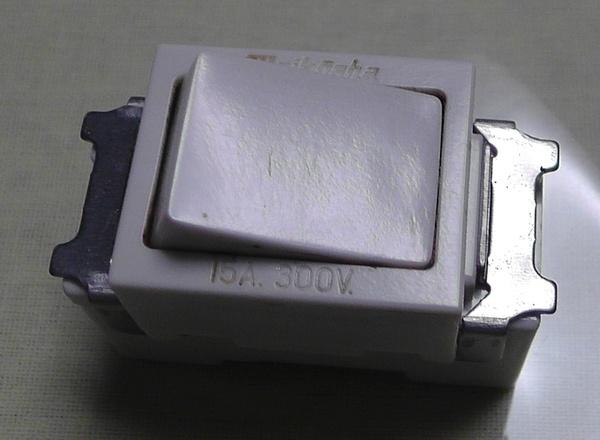 明工社のMLタンブラスイッチ(3路)ML1113W