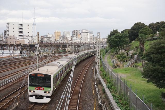 EF81 81牽引 カシオペア紀行盛岡行き & 日暮里 界隈6