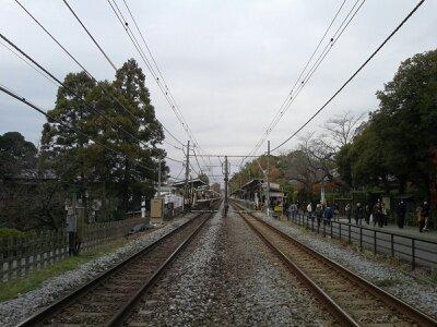 北鎌倉線路2012年12月