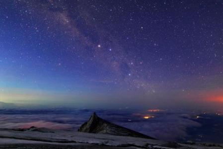 キナバル山(天の川).jpg
