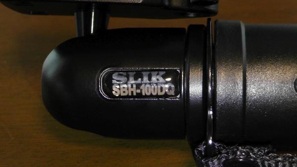 SBH-100DQ SLIK スリック 一脚 LIGHTY POD DQ 自由雲台