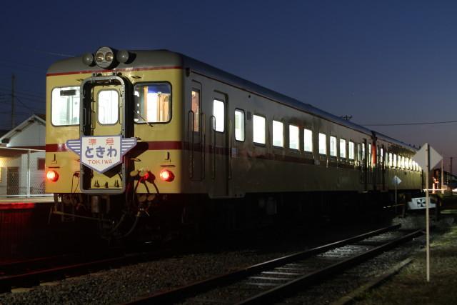 夜景の ひたちなか.港線 開業99周年を 終える2
