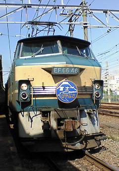 EF66-48 牽引 富士・はやぶさ
