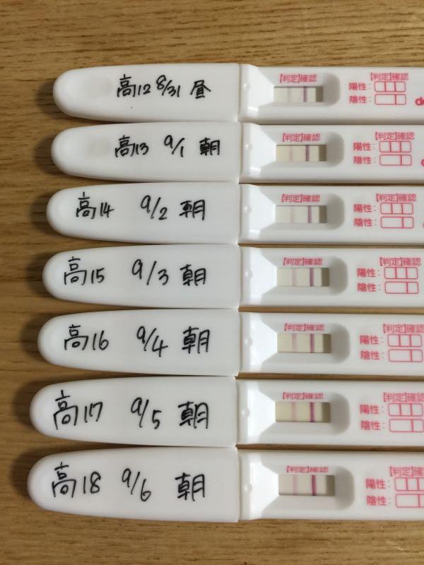 妊娠検査薬フライング