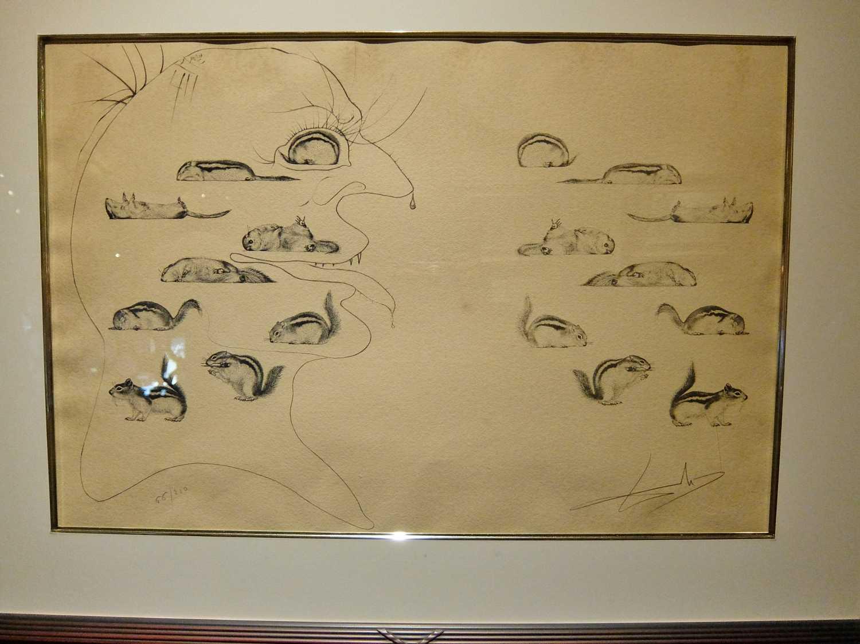 ホテル川久 宮殿 美術館 白浜 和歌山 ダリ 本物 偽物 ポスター ブログ