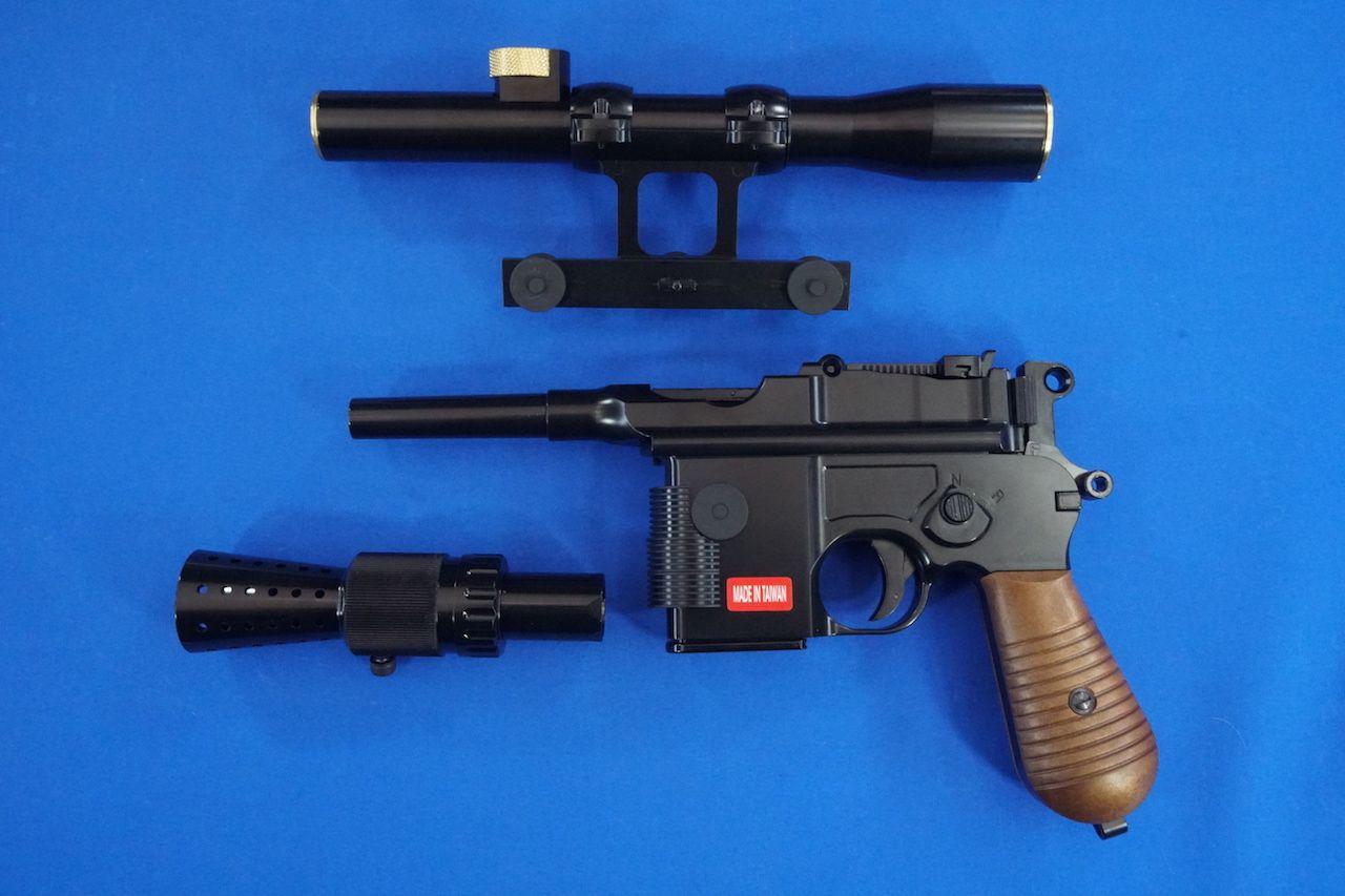 AG338 ARMORER WORKS(WE)製 M712 ブラスター GBB