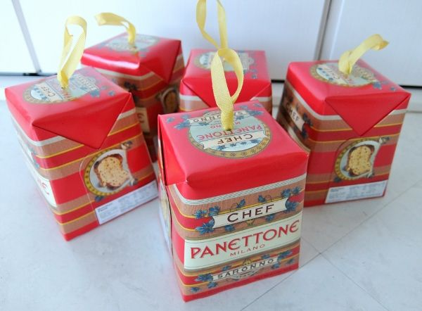 コストコ クリスマス <br />ミニパネトーネ 100G X 5 円 Saronno Mini Panettone
