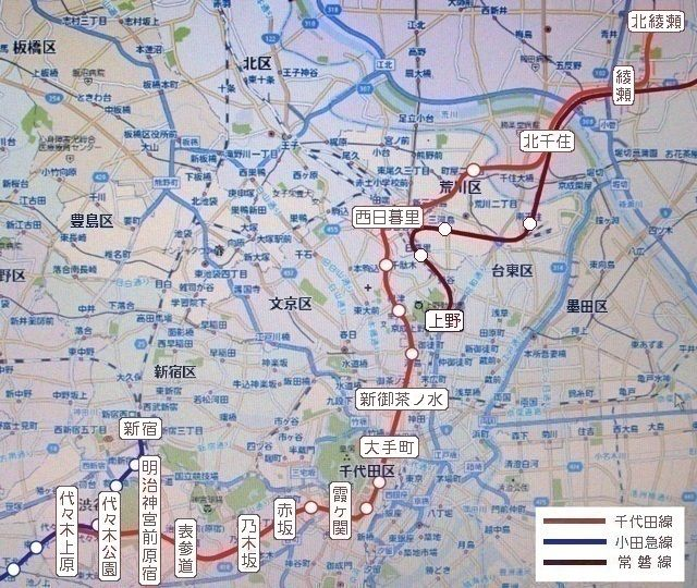 千代田 線 路線 図