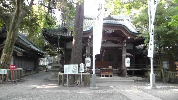 八百富神社 拝殿