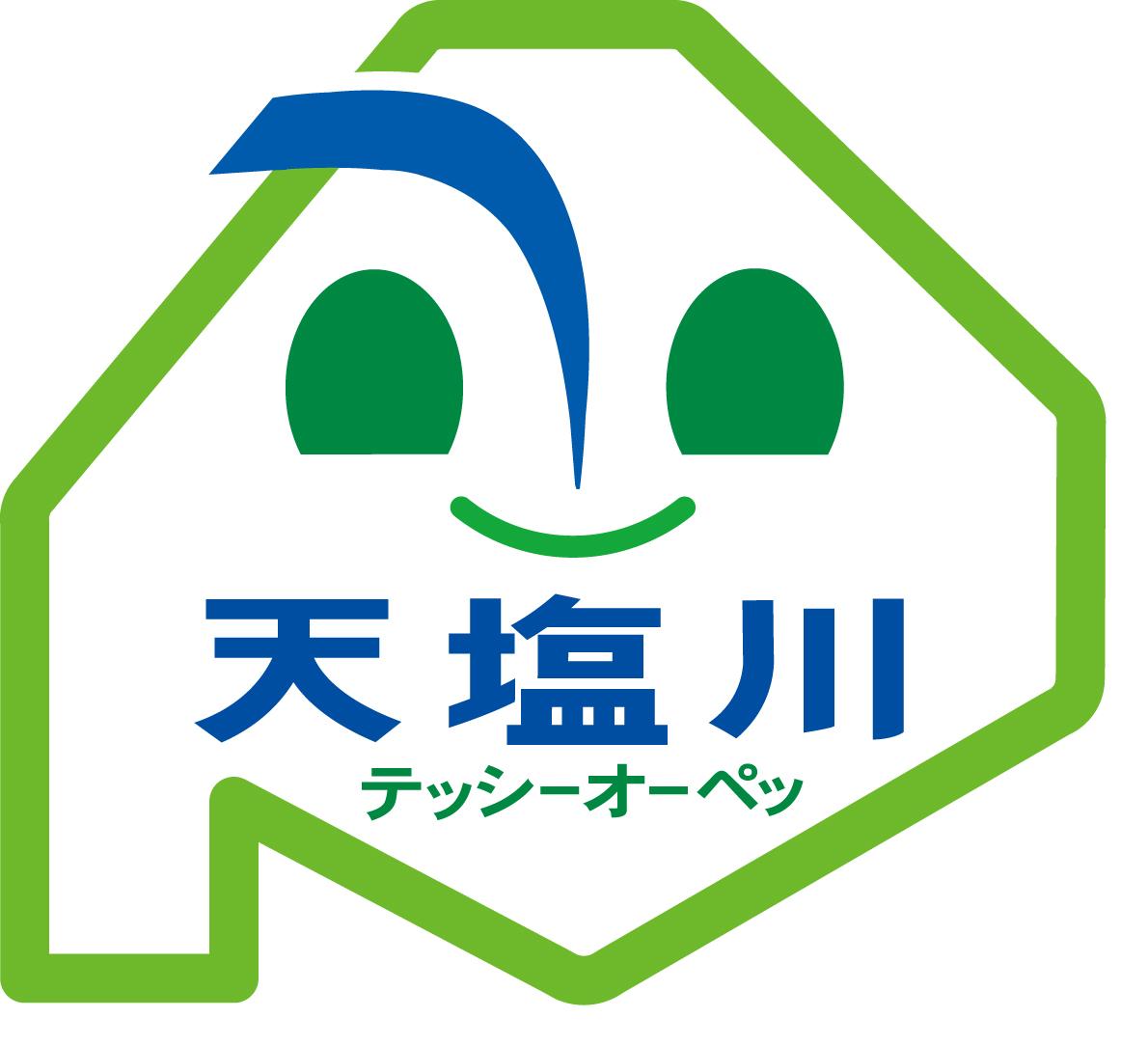 天塩川ロゴマーク
