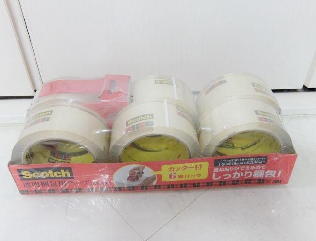 コストコ 3M 梱包用テープ 778円