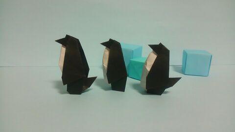 ペンギンの折り紙は奥が深かった。基本の折り方からアレンジ ...