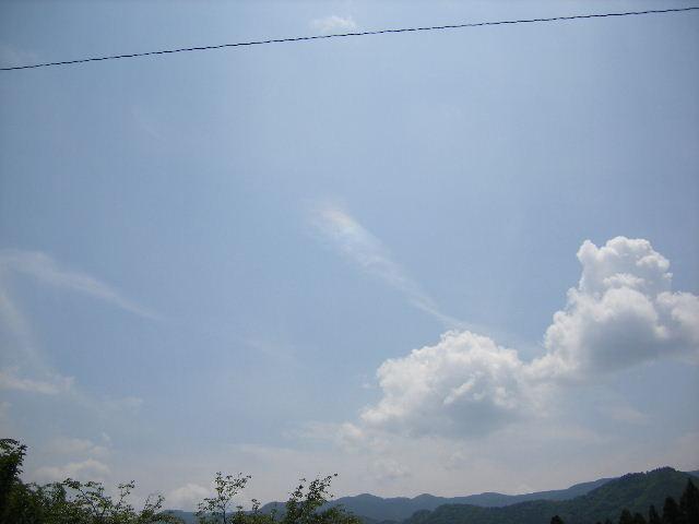 皆神神社彩雲