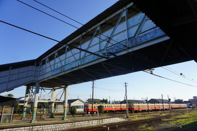 小湊鉄道 & JR 旧跨線橋の封鎖3