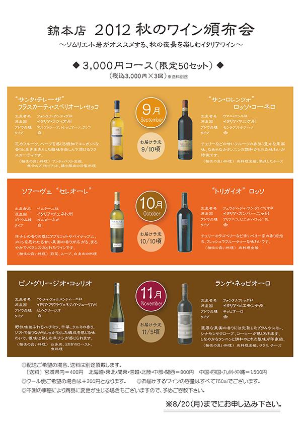 2012ワイン頒布会1