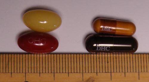 DHCサプリメントのサイズ比較