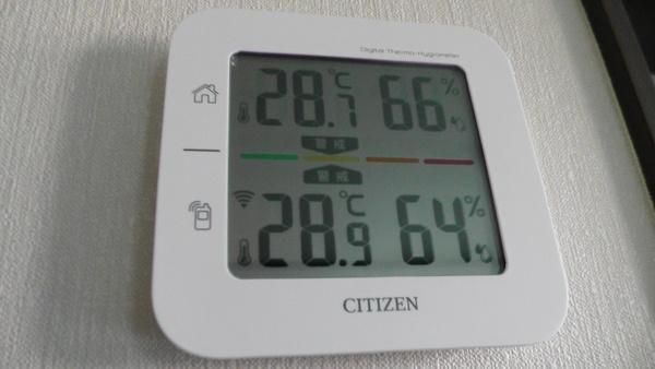 室内外気温