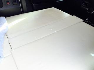 n-box 車中泊マット自作 1