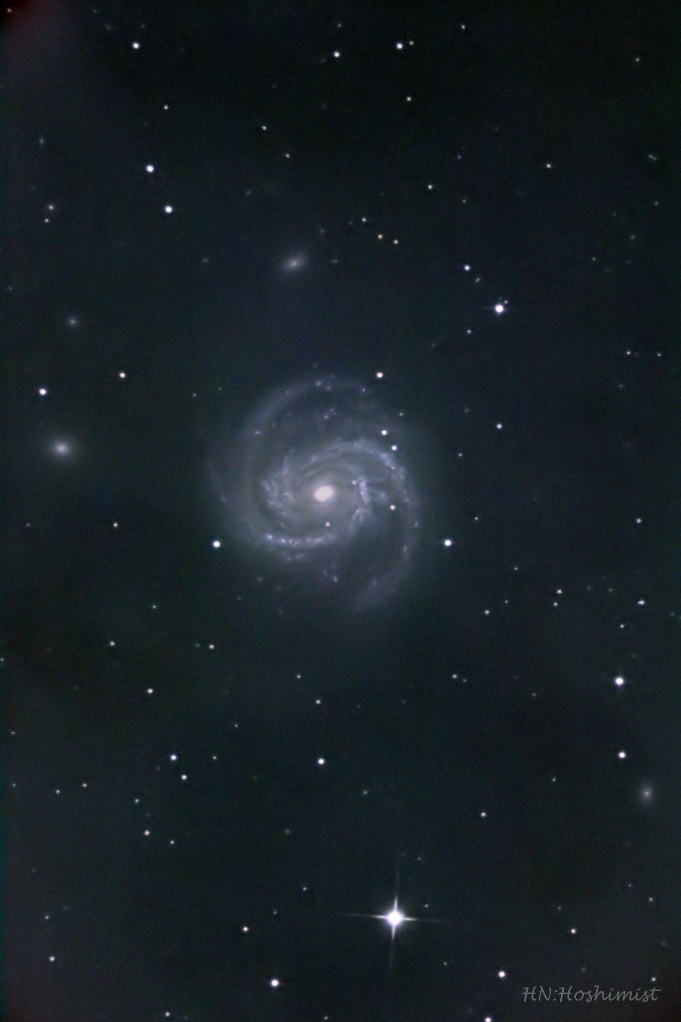 M100 かみのけ座の渦巻銀河 | ホ...