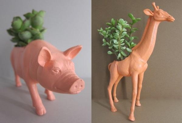 動物 鉢植え