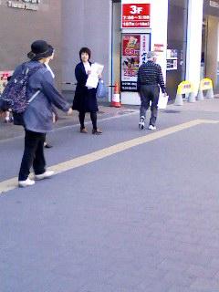 顕正会員in神奈川
