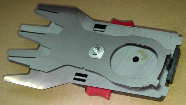 バリカン用ショート刃は切れ味鋭いドイツ製バリカン刃