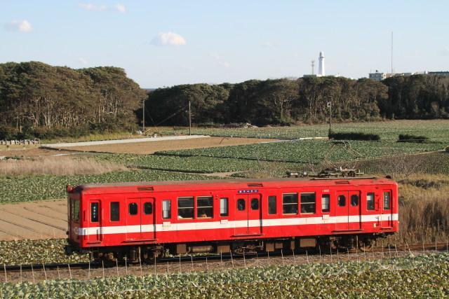 銚子電鉄「デハ1002」 さよなら運転2