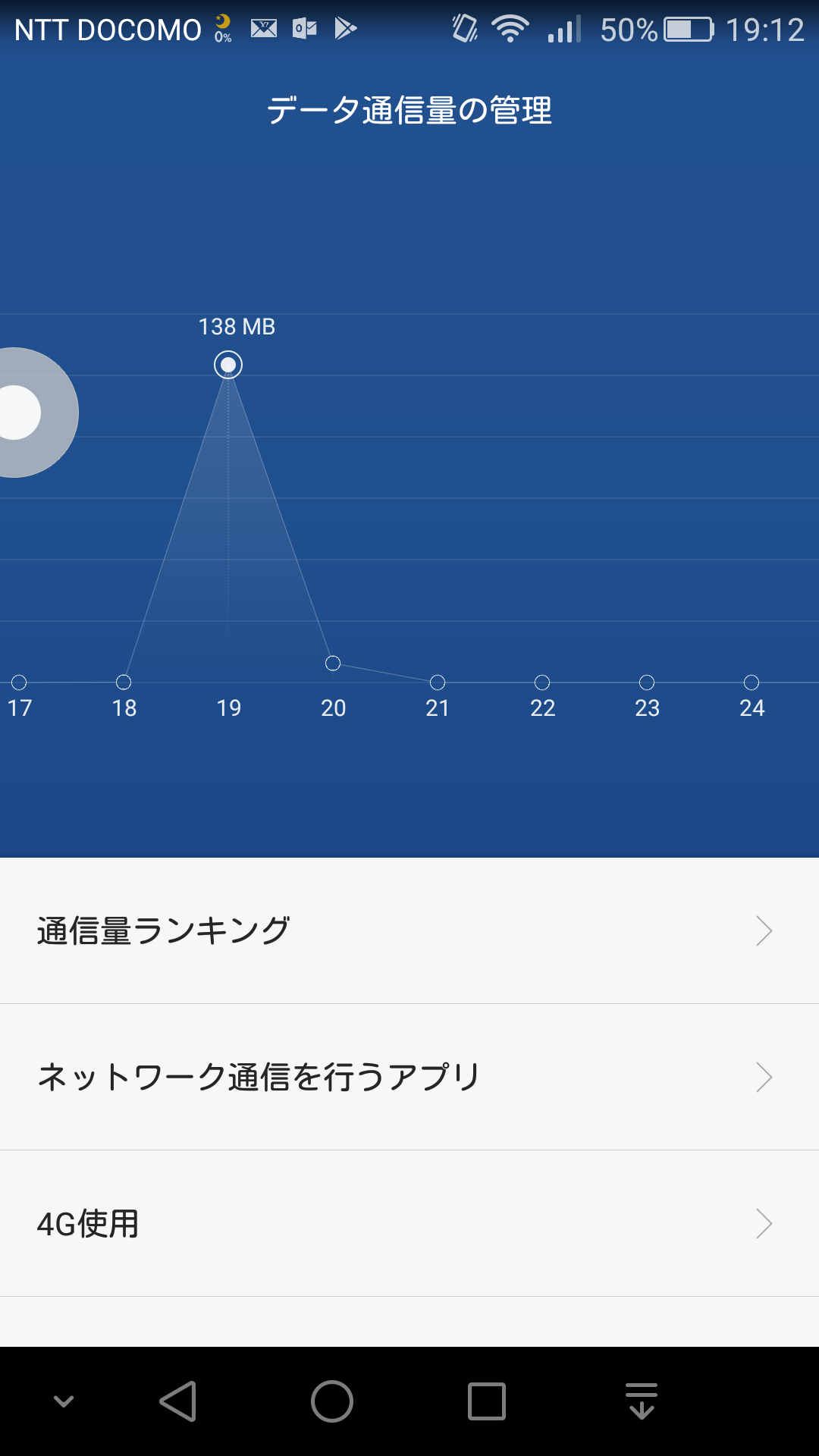 NEW XPS_テザリング_通信量