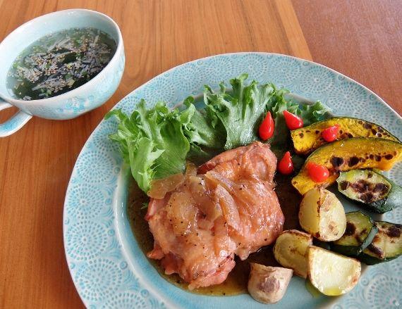 コストコ 伊藤ハム チキンステーキ Chicken Steak スウィーティードロップ 878円 肉めし 若鶏 オニオンソース