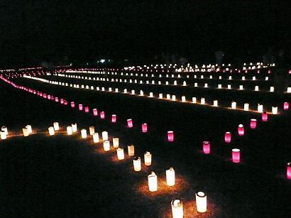 2012 なら燈花会 浮雲園地