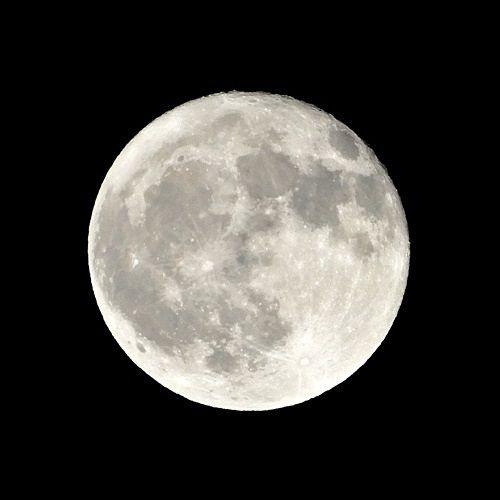 十七夜の月