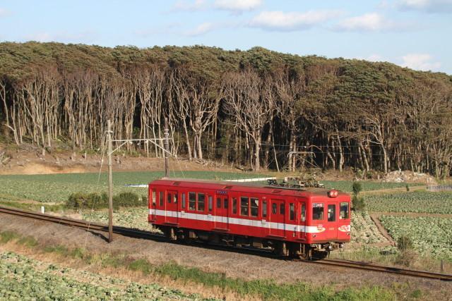 銚子電鉄「デハ1002」 さよなら運転