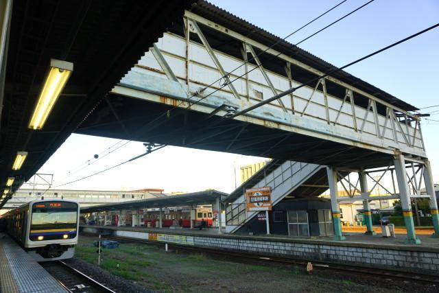 小湊鉄道 & JR 旧跨線橋の封鎖6
