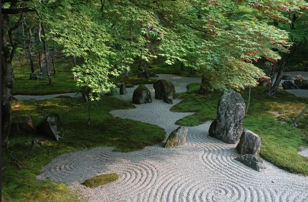 "astonishing beautiful zen garden | 枯山水を和菓子で表現したお菓子""心安寺石庭""が凄いと海外で話題に! | 愛すべき道具達・・・。 - 楽天ブログ"