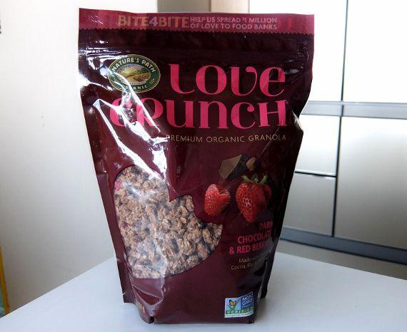 コストコ ブログ ラブクランチ 750G 928円 Love Crunch Organic Granola ダークチョコレート&レッドベリー