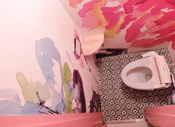 トイレのセルフリノベーション DIYでセルフリフォーム 女性でも簡単にクッションフロア貼れました シンコール クッションフロア S1601