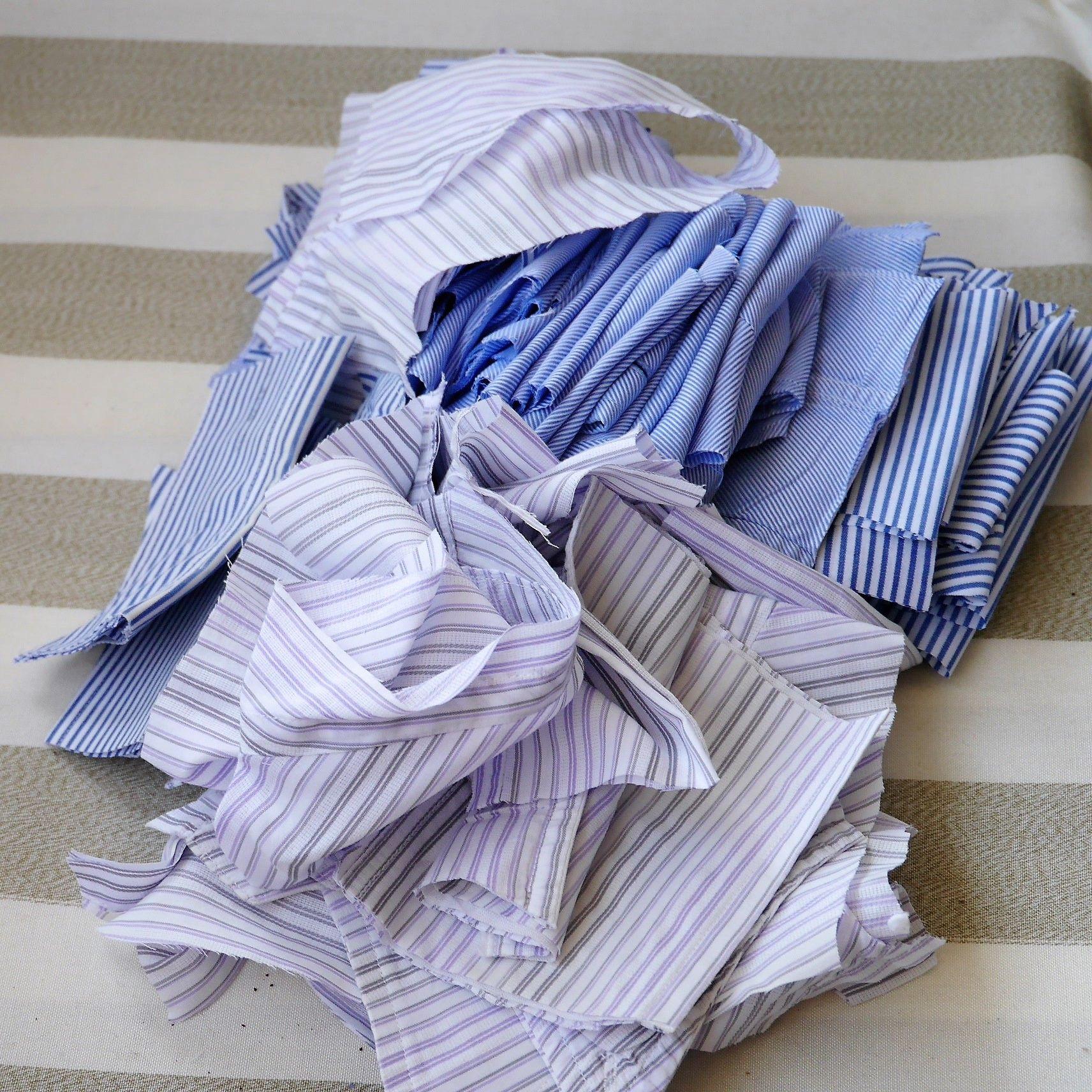 ワイシャツリメイク_端切れ