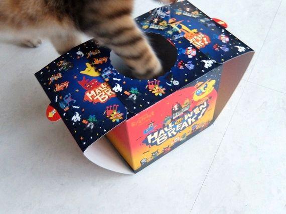 猫 コストコ レポ ブログ キットカット ハロウィーン 868円 ネスレ キットカット ハロウィンボックス キャラメルプリン味