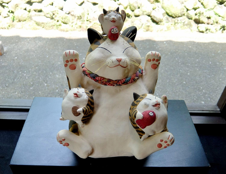 招き猫美術館 福 Manekineko Art Museum 岡山