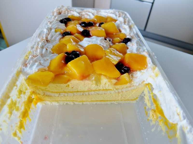 コストコ レポ ブログ マンゴームーススコップケーキ 円 冷凍 デリ ケーキ 新商品 味