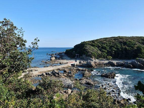 和歌山 すさみ 童謡の園 と江須崎島