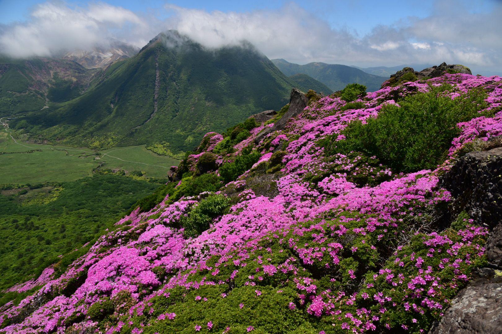 九州の山々