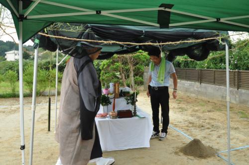 手樽の家地鎮祭