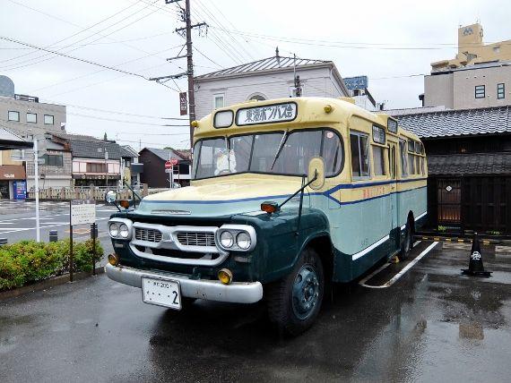 招き猫ミュージアム ボンネットバス