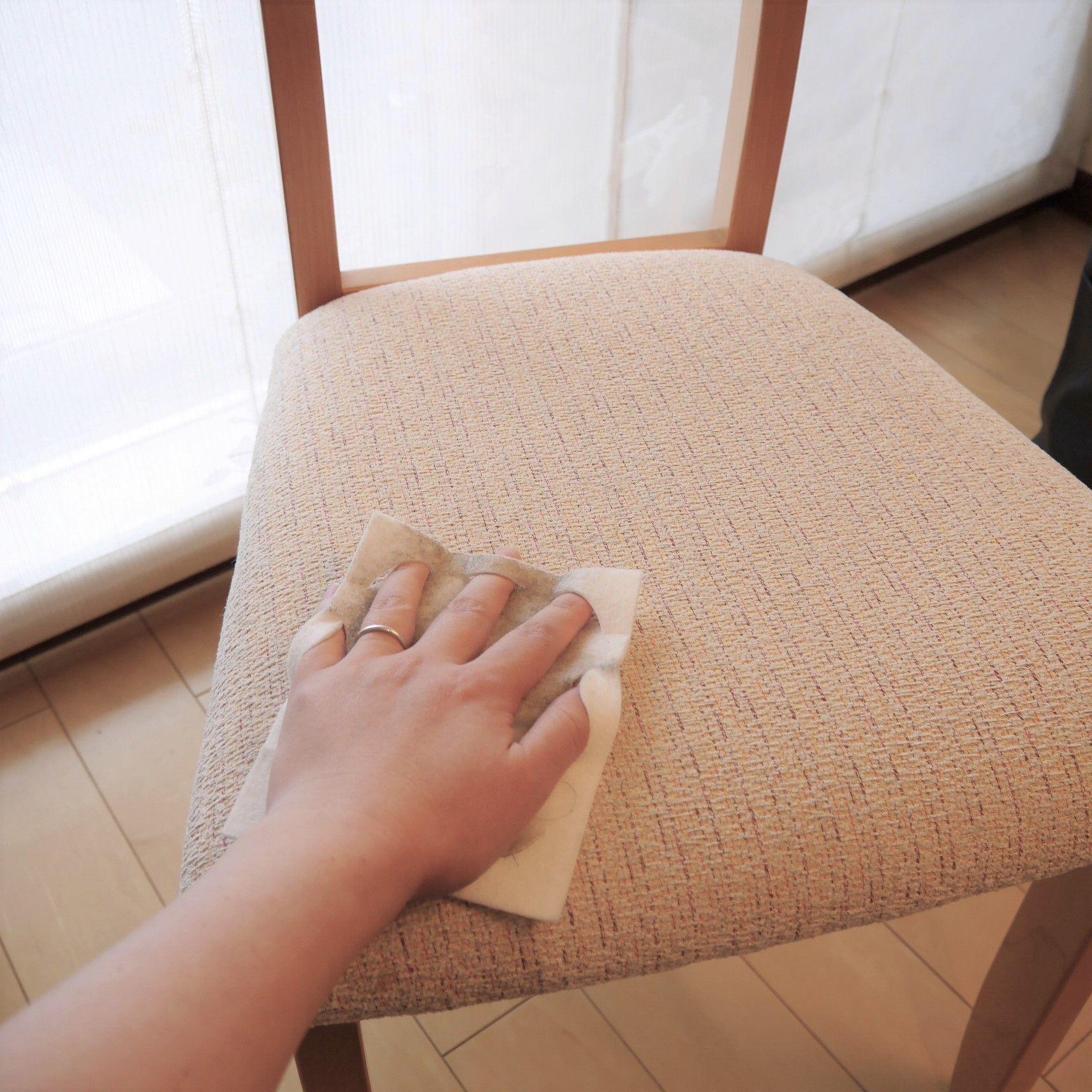 クイックル 布・カーペットウエットぶきシート_食卓用椅子