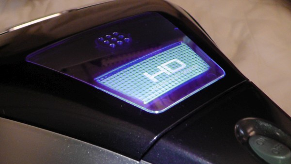 ふとん掃除機 パナソニック MC-DF500G ハウスダストセンサーランプが青く光る