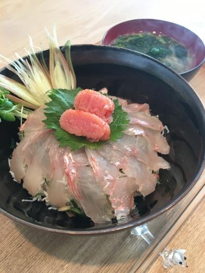 180325キンメ海鮮丼