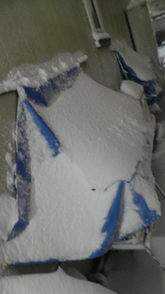 雪よけの効果
