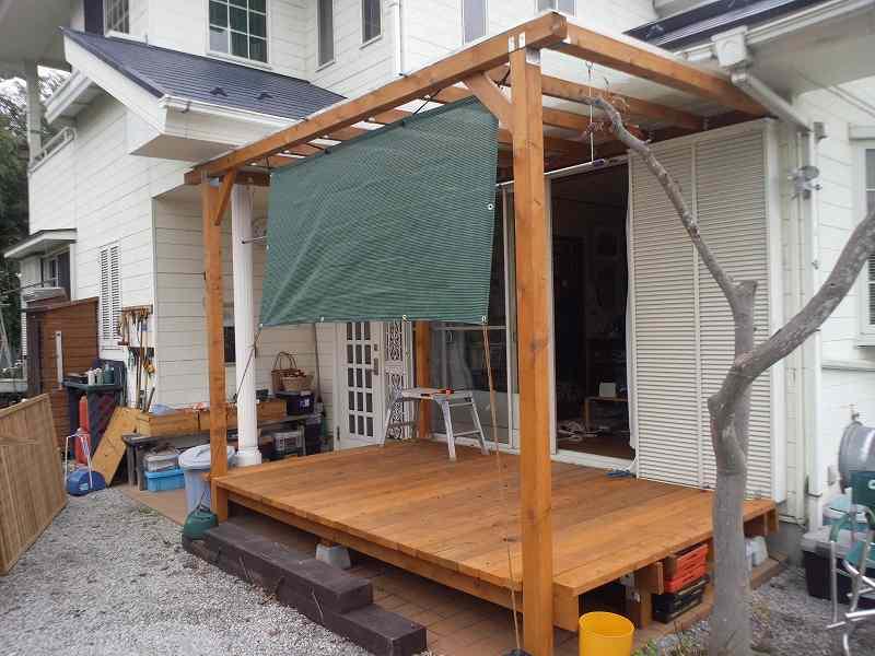本日は、DIY。ウッドデッキのフェンス製作。 | 週末は田舎で ...