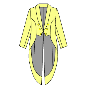 ヘチマカラー 燕尾服